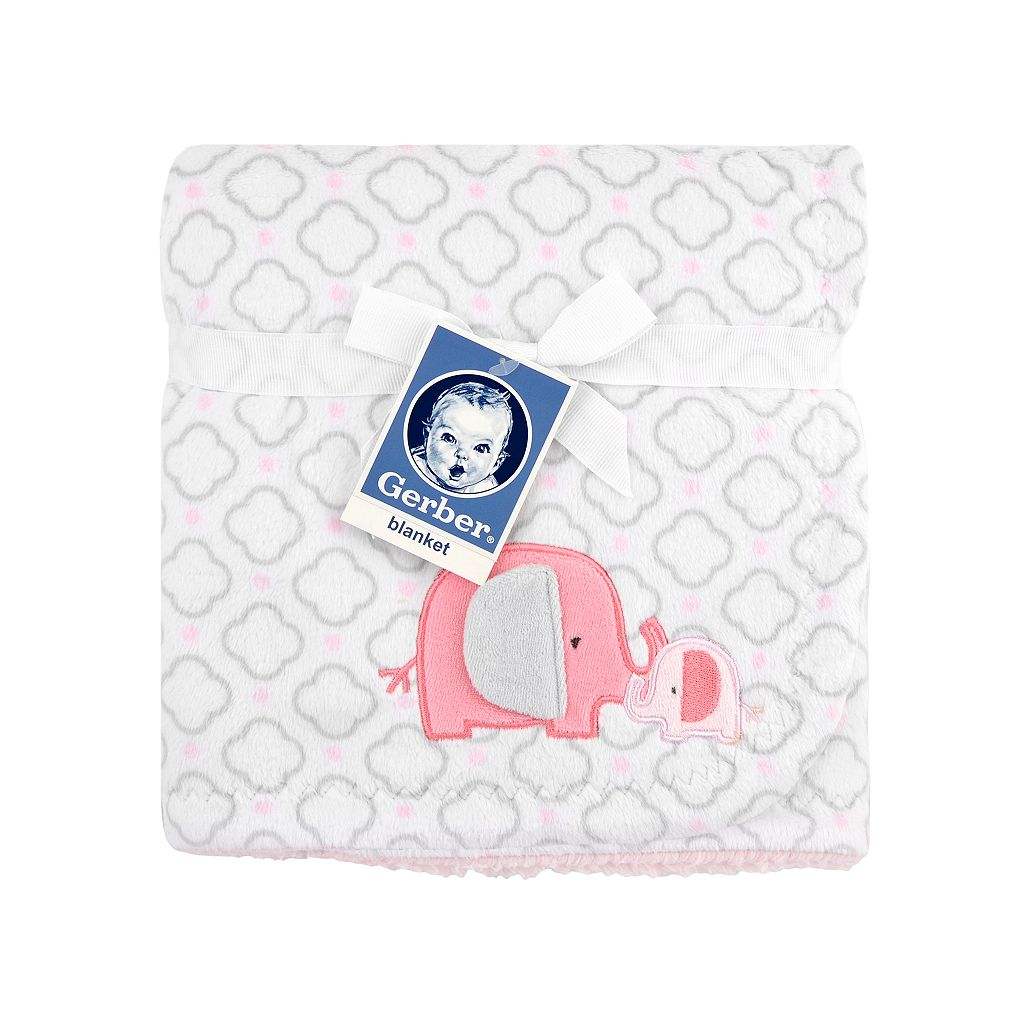 Gerber Reversible Elephant Blanket