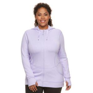 Plus Size FILA SPORT® Ultra Strength Zip-Front Hoodie