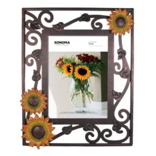 "SONOMA Goods for Life™ Sunflower 5"" x 7"" Wire Frame"