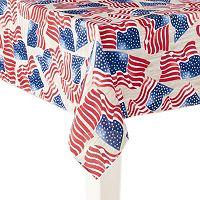 Celebrate Americana Together Flag Tablecloth