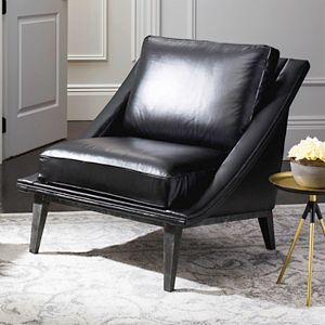 Safavieh Couture Hampden Leather Club Chair