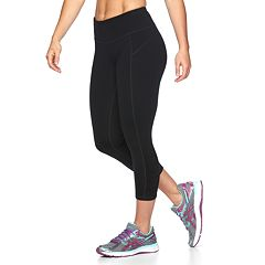 Petite Tek Gear® Shapewear Capri Workout Leggings