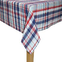 Celebrate Americana Together Seersucker Plaid Tablecloth