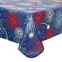 Celebrate Americana Together Fireworks Tablecloth