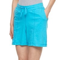 Women's Caribbean Joe Seamed Pull-On Shorts