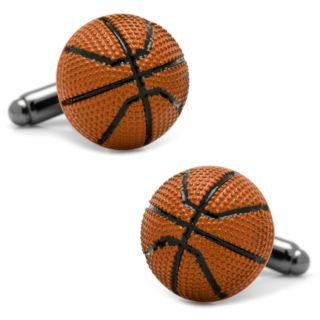 Basketball Cuff Links