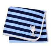 Gerber Reversible Giraffe Striped Blanket