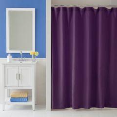 purple shower curtains bathroom, bed & bath | kohl's