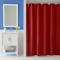 Martex Solid Shower Curtain