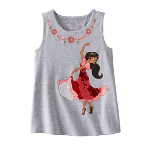 Disney's Elena of Avalor Girls 4-7 Lace Back Swing Tank Top by Jumping Beans®
