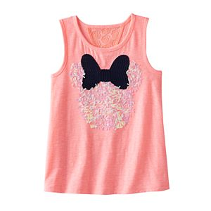 Disney's Minnie Mouse Girls 4-7 Lace Back Swing Tank Top by Jumping Beans®