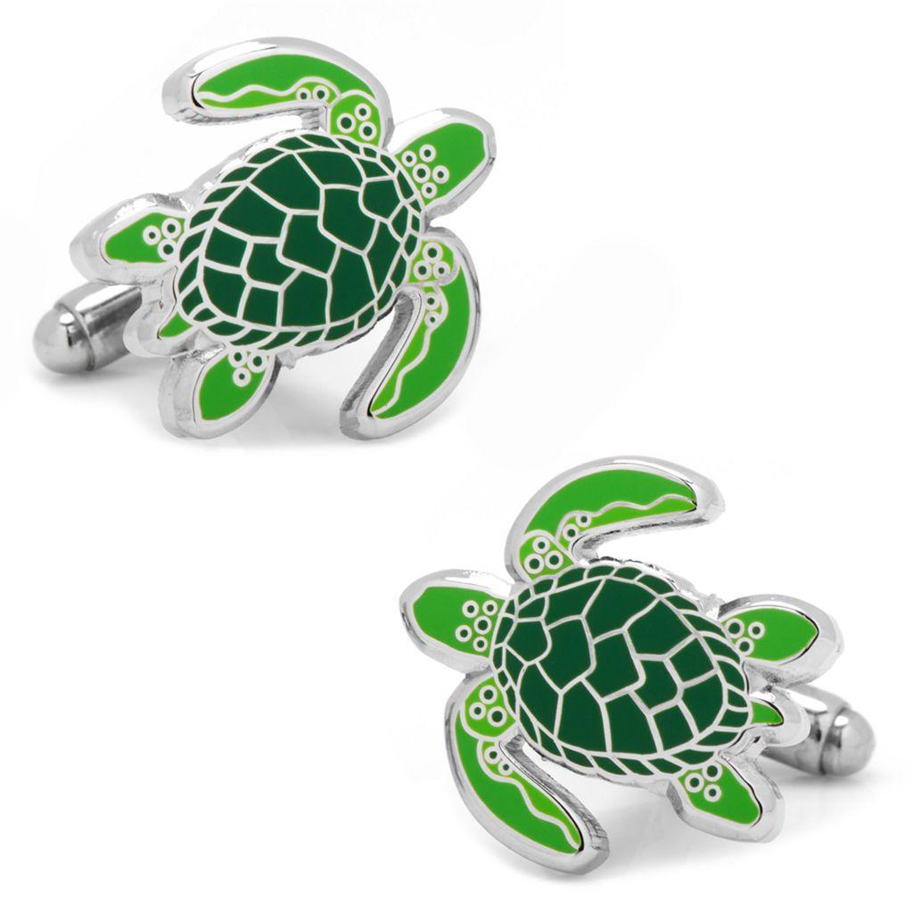 Sea Tortoise Cuff Links