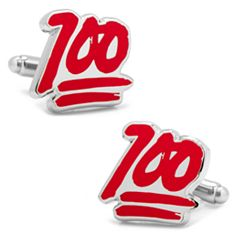 100 Percent Cuff Links
