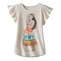 Disney's Moana Toddler Girl Fringe Flutter Tee by Jumping Beans®