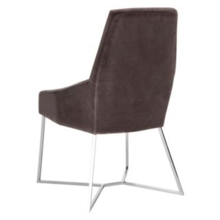 Safavieh Couture High-Back Velvet Accent Chair