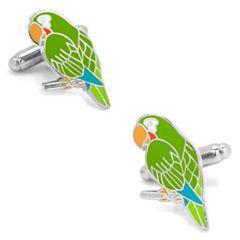 Parakeet Cuff Links
