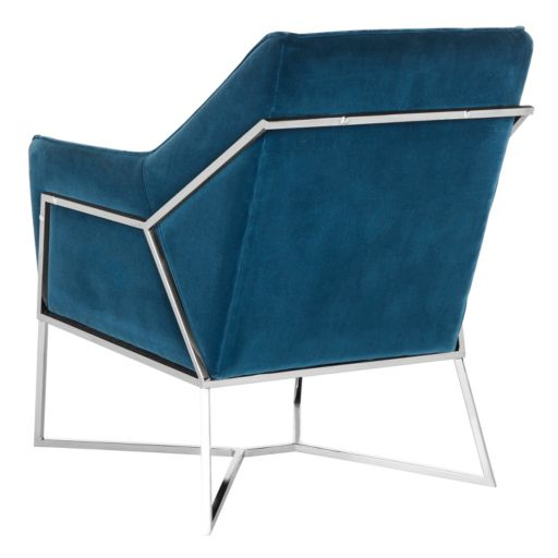 Safavieh Couture Velvet Arm Accent Chair