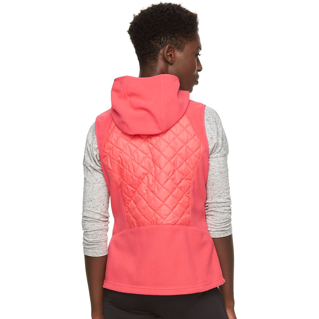 Women's Columbia Warmer Days Fleece Hooded Vest