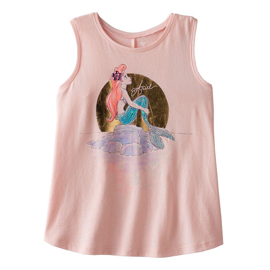 Disney's The Little Mermaid Girls 4-7 Ariel Swing Racerback Tank Top by Jumping Beans®