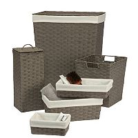 Creative Ware Home 6 pc Essex Hamper Set