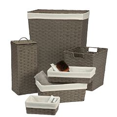 Creative Ware Home 6-piece Essex Hamper Set