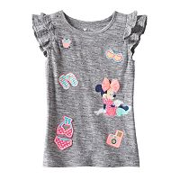 Disney's Minnie Mouse Toddler Girl Applique Flutter Tee by Jumping Beans®