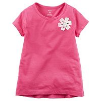 Baby Girl Carter's Rosette High-Low Hem Tee