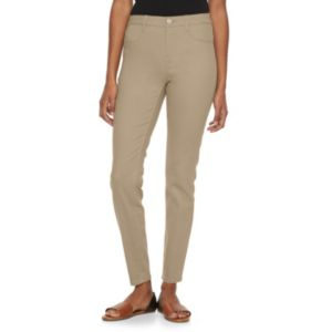 Juniors' SO® Perfectly Soft High-Waisted Ankle Jeggings