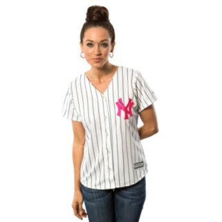 Women's Majestic New York Yankees Mother's Day Replica Jersey
