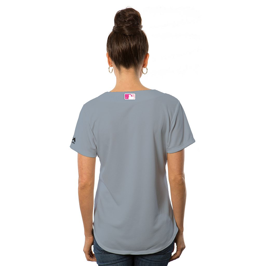 Women's Majestic Chicago Cubs Mother's Day Replica Jersey