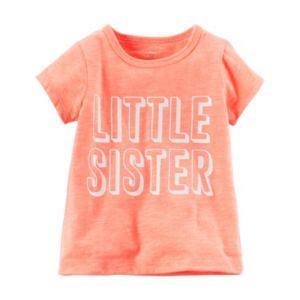 Baby Girl Carter's Sister Slubbed Tee