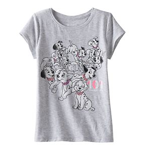 Disney's 101 Dalmations Girls 4-7 Glitter Tee by Jumping Beans®