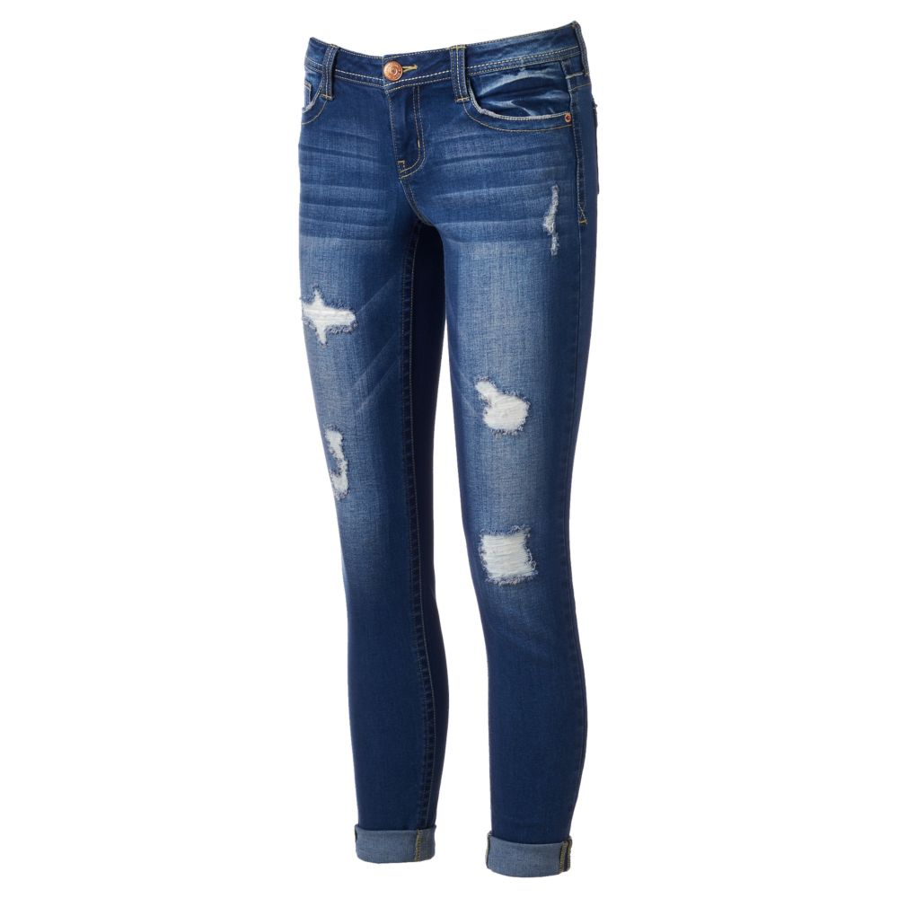 Almost Famous Ripped Skinny Jeans