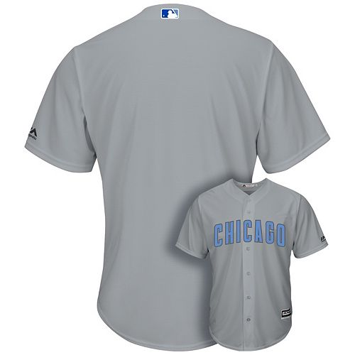 Men's Majestic Chicago Cubs Father's Day Replica Jersey
