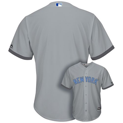 new concept e5b8a 4f5e5 Men's Majestic New York Yankees Father's Day Replica Jersey
