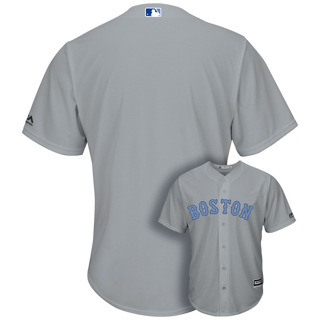 Men's Majestic Boston Red Sox Father's Day Replica Jersey
