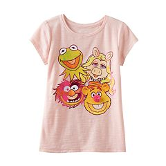 Disney's The Muppets Girls 4-7 Slubbed Rhinestone Tee by Jumping Beans®