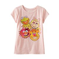 Disney's The Muppets Toddler Girl Slubbed Rhinestone Tee by Jumping Beans®
