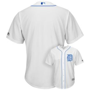 Men's Majestic Detroit Tigers Father's Day Replica Jersey