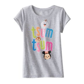 Disney's Tsum Tsum Girls 4-7 Sequin Tee by Jumping Beans®