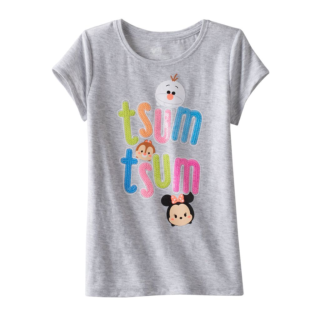 Disney's Tsum Tsum Toddler Girl Sequin Tee by Jumping Beans®