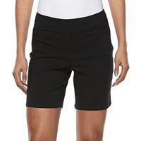 Women's Dana Buchman 8-in. Pull-On Shorts