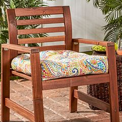 Greendale Home Fashions 20 in Outdoor Chair Cushion