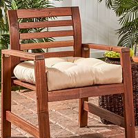 Greendale Home Fashions 20-in. Outdoor Chair Cushion