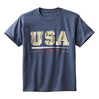 Boys 8-20 USA Baseball Tee