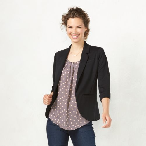 Womens Blazers &amp Suit Jackets - Tops Clothing | Kohl&39s