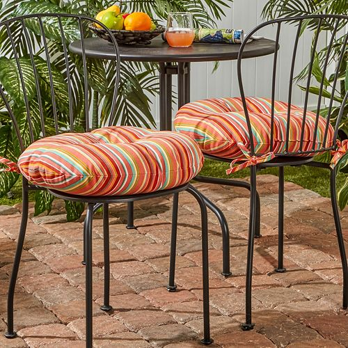 Awe Inspiring Greendale Home Fashions 2 Pack 18 In Round Outdoor Bistro Home Remodeling Inspirations Cosmcuboardxyz