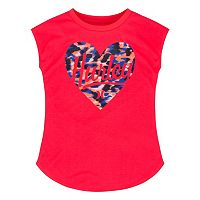 Girls 7-16 Hurley Heart Tee