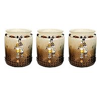 Pomeroy Ombre Votive Candle Holder 3-piece Set