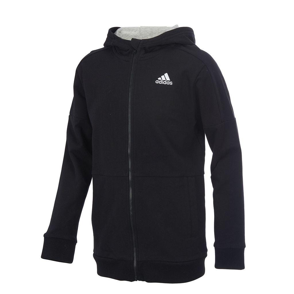 Boys 8-20 adidas Full-Zip Fleece Jacket